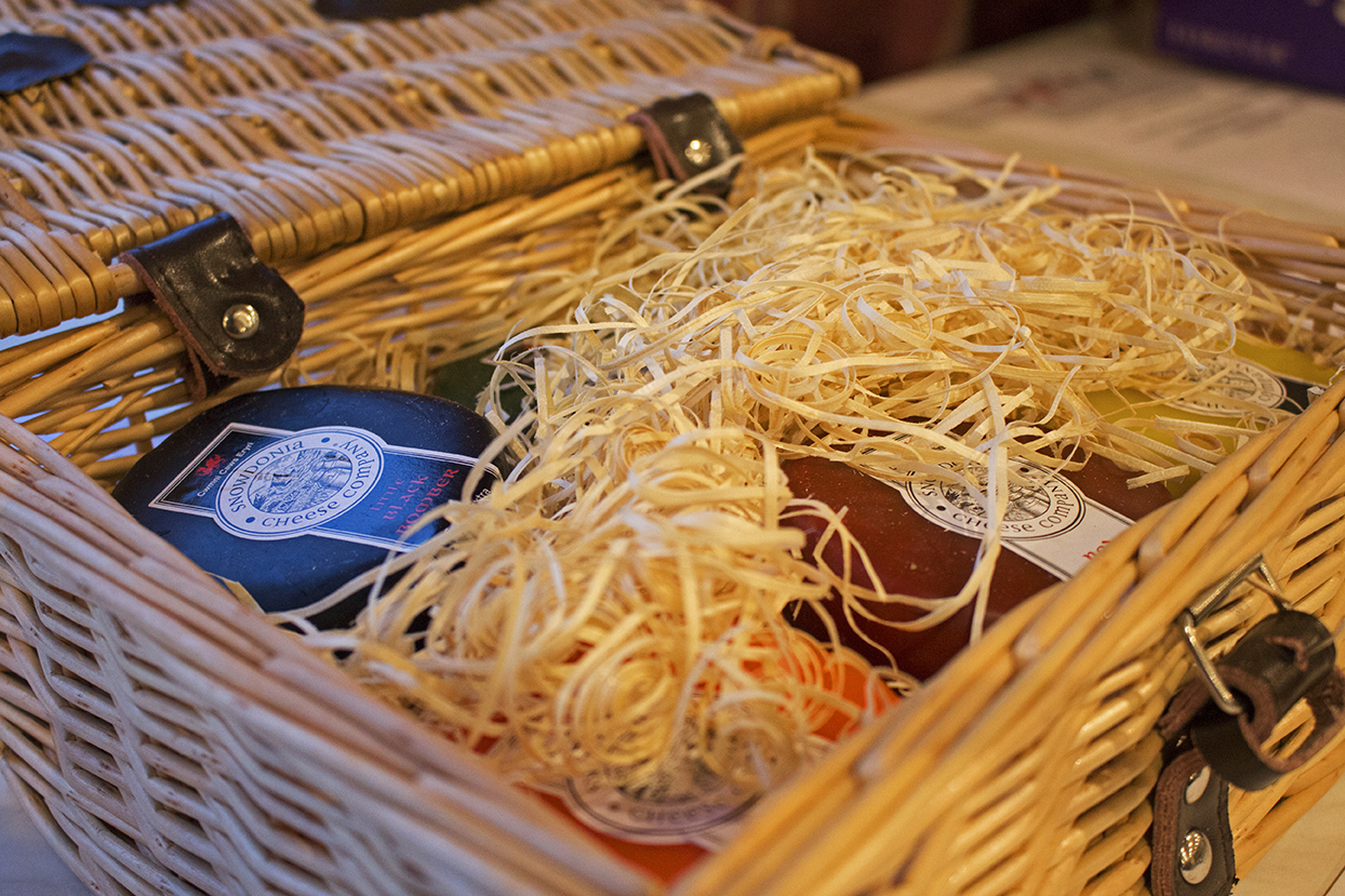 The Snowdonia cheese auction item.