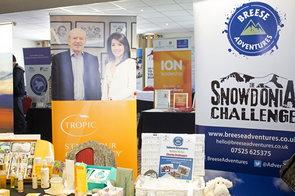 Two businesses, Tropic and Snowdonia Challenge.